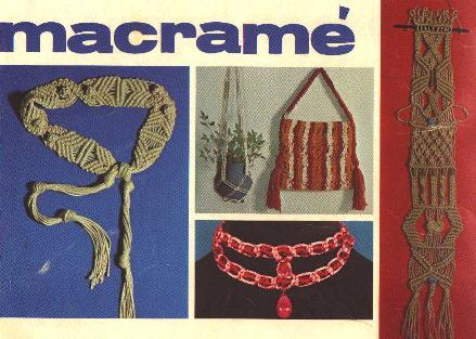 dmc macrame pattern and instruction book