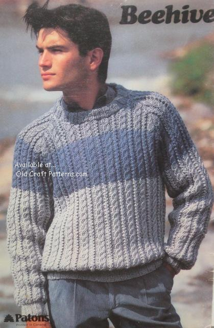 Patons Chunky Knitting Patterns : patons 472 chunky choice knitting patterns for sweaters using diana or shetla...