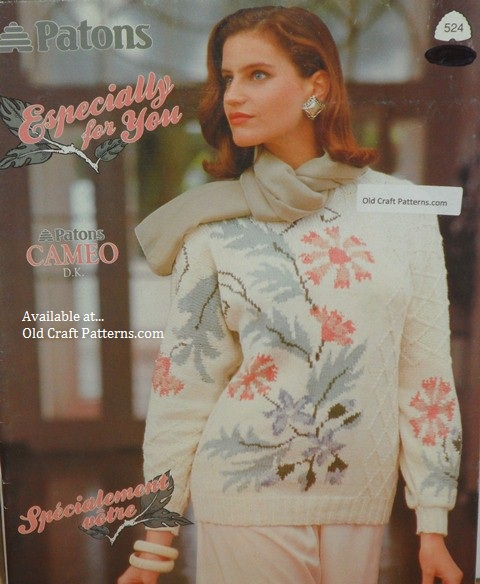 Knitting Patterns Patons : patons old vintage fair isle knitting crochet patterns books and leaflets