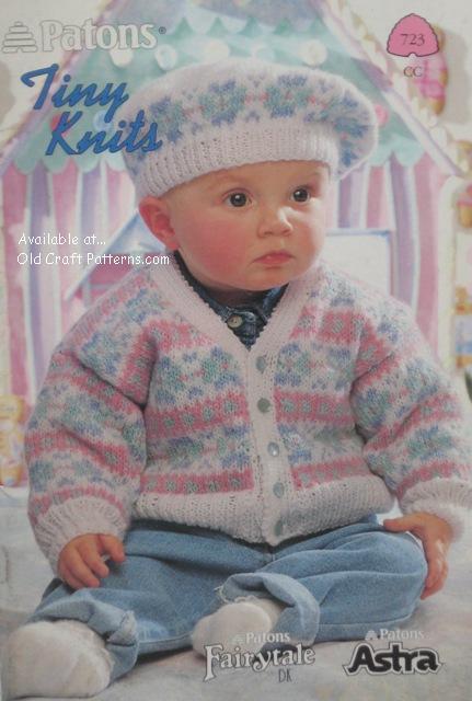 Patons Book No 723 Tiny Knits Baby Knitting Patterns Www