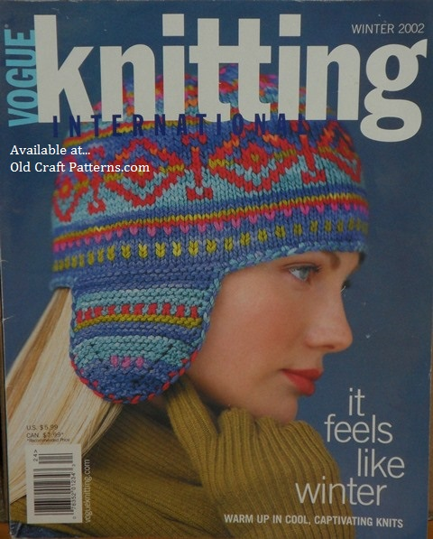 Old Craft Patterns For Older Vintage Crochet Knitting