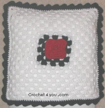 #Crochet rose granny square #TUTORIAL #grannysquare - YouTube